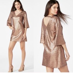Gold/Bronze Sequin Dress